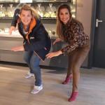 La Mysore Cosmetics en Barbara de Loor combineren sport en beauty met exclusieve schaatsclinic