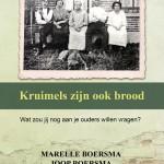 Cover boek Kruimels zijn ook brood - Marelle en Joop Boersma - prachtboeken.nl