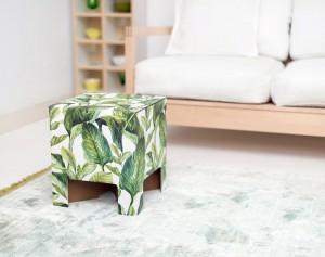 Dutch Design Chair Green Leaves - dutchdesignbrand