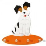 Kapstok Hond Billy Hout Weizenkorn - houtendiershop.com