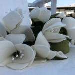 Vilten rouwbloemen van Be-flowerd
