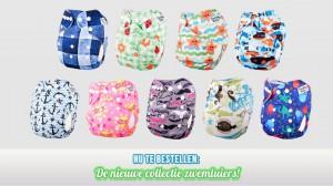 Nieuwe collectie zwemluiers PandaBaby