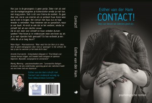Cover en achterkant boek Contact - uitgeverij Doormvallei