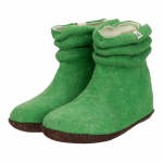 Dames sloffen Wrinkle Green - esgii.nl