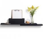 Duplex boekenplank zwart - puikdesign.nl