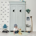 Kinderkast Camilla Collection Loulou Moon mint 1 - kinderkamerinstijl.nl
