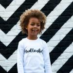 Krullenbol shirt wit - babyscloset.nl