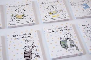 Mijlpaalkaarten bewust ouderschap - 3kleinedraakjes.nl