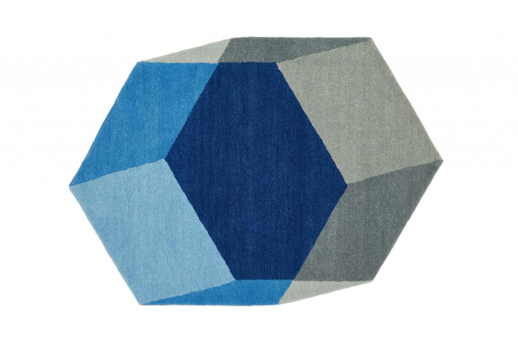 Iso designerkleed - Stap in de derde dimensie - puikdesign