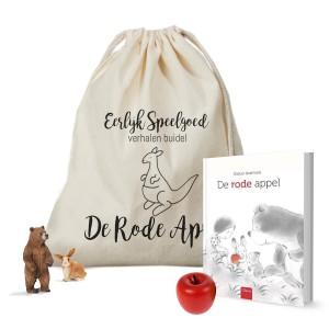 Verhalen Buidel De Rode Appel - eerlijk-speelgoed.nl