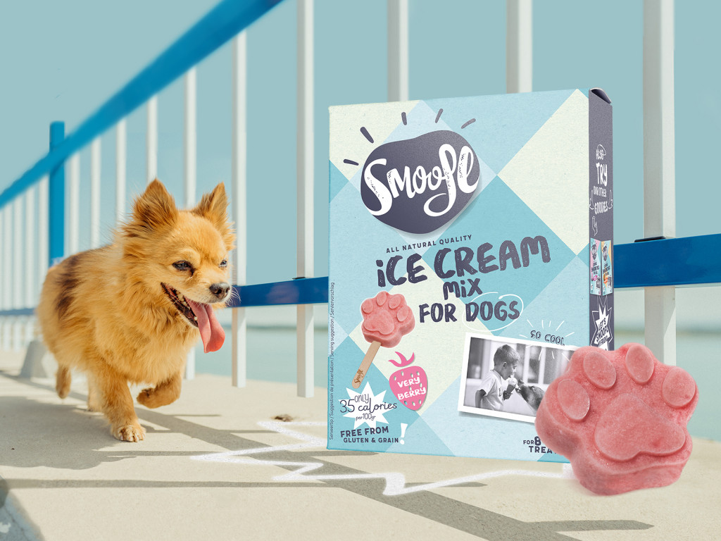 Smoofl Ice cream mix - voor het maken van hondenijsjes