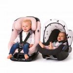 Nieuwe autostoelhoezen met zomerse prints van Ukje houden je auto netjes én stijlvol