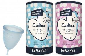 Belladot Evelina menstruatiecup: voor een frisse en vrije menstruatie