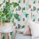 Roomblush lanceert TROPICAL; een kleurrijke, eclectische behangcollectie