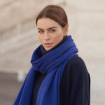 Travel Wrap sjaal Cosy Midnight Blue - sjaalmania.nl