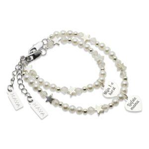 Vier de feestdagen met KAYA's zilveren sieraden voor moeder & dochter