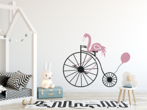Muursticker Flamingo kinderkamer - ja-winkel.nl