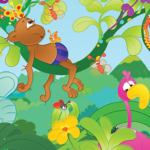Tweetalige, vrolijke kinderboeken: Apenstreken met Tooby