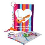 Muziekids geluk sleutelhanger; een mooi gebaar voor het goede doel