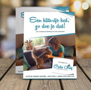 Cover van e-book 'Een klitvrije kat, zo doe je dat!' - cats-only.nl