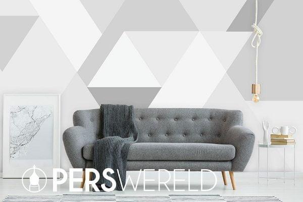 Behang Bergen abstract grey - daringwalls.com