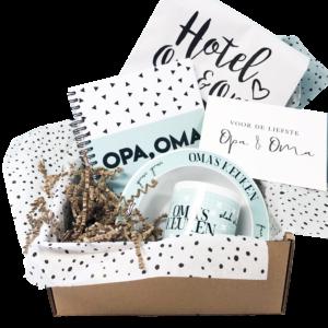 Opa oma box limited edition - hipenmamabox.nl