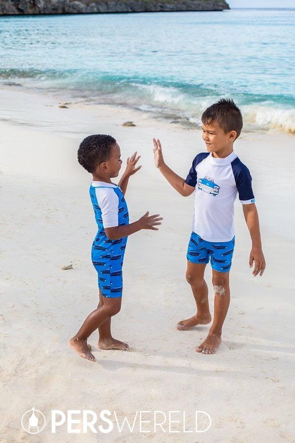 UV zwemkleding Oldtimer voor kinderen