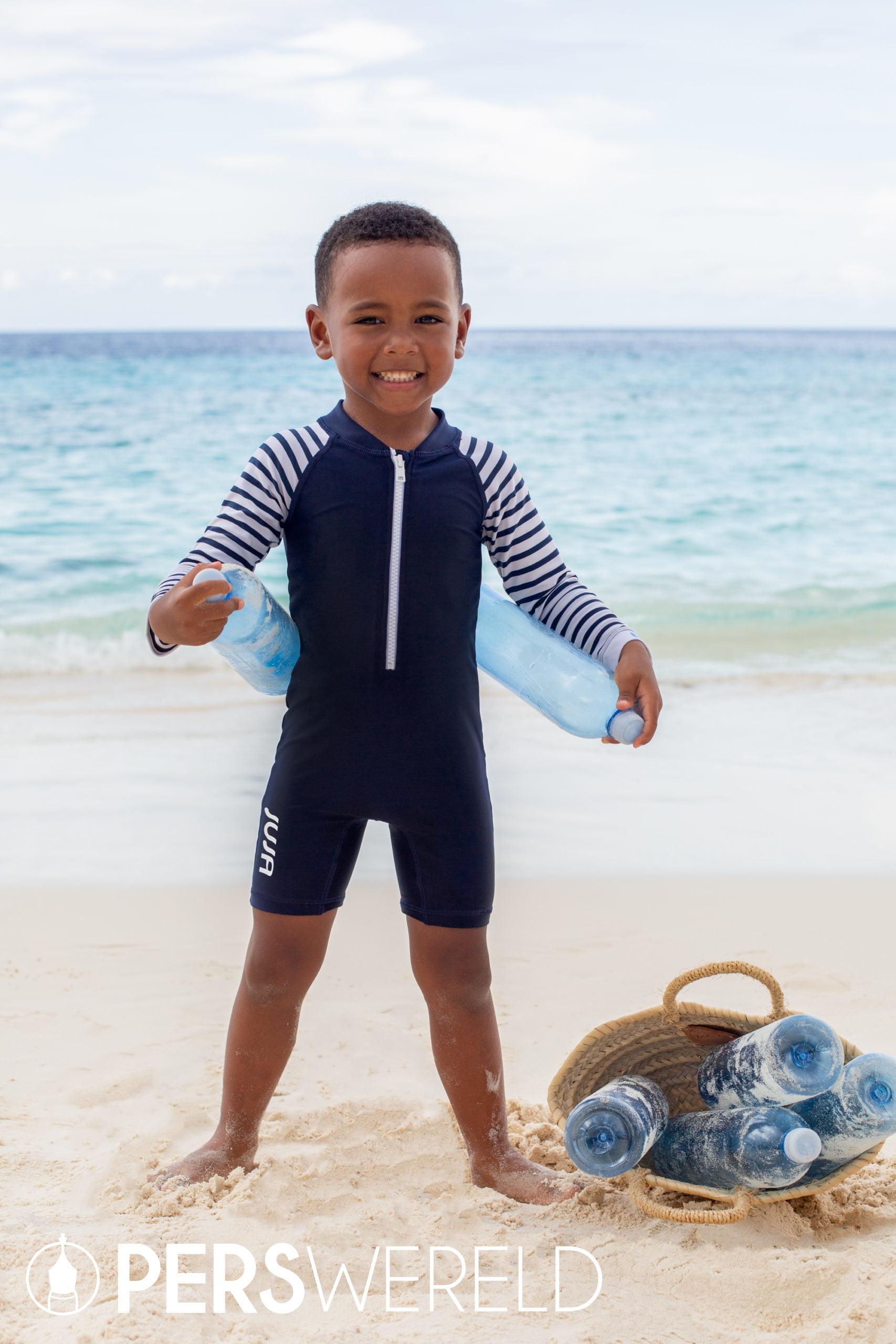 UV zwempak Stripy voor baby's