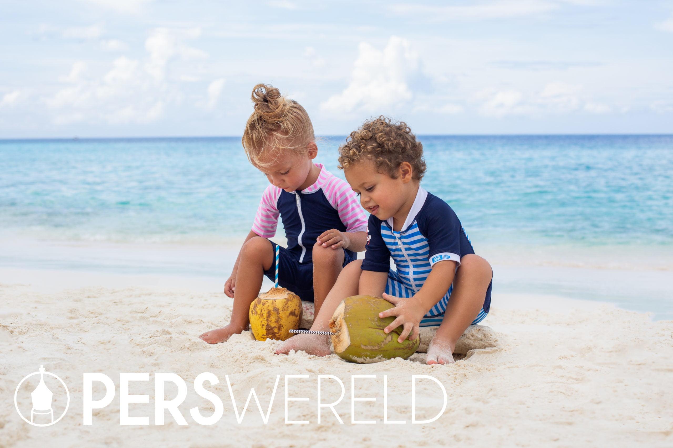 UV zwempak Stripy en Stripes voor baby's