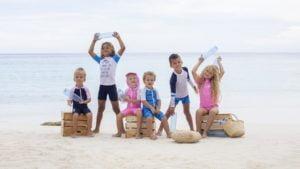 JUJA lanceert UV-beschermende zwemkleding van gerecyclede petflessen