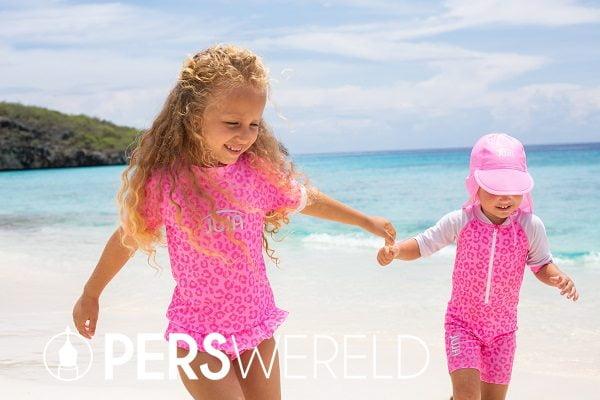 UV zwemkleding Leopard voor kinderen