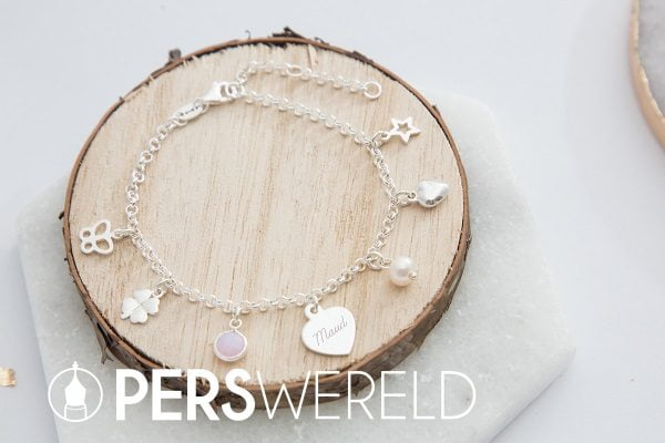 Armband Fijne Jasseron met bedels - kayasieraden