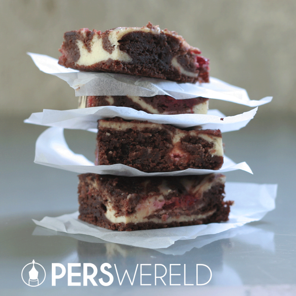 Brownie Irresistible Cheescake Raspberry - mrsjanet.nl
