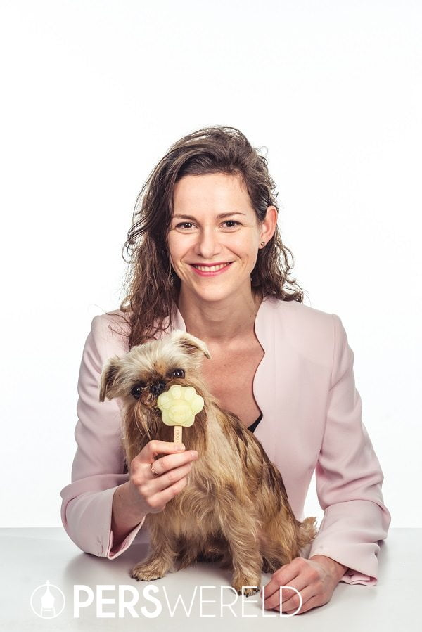 Tineke Bracke met hond Bacchus - smoofl.com
