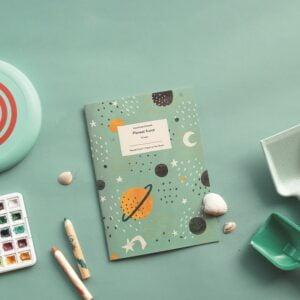 Planeet Kunst Kinderwerkboek