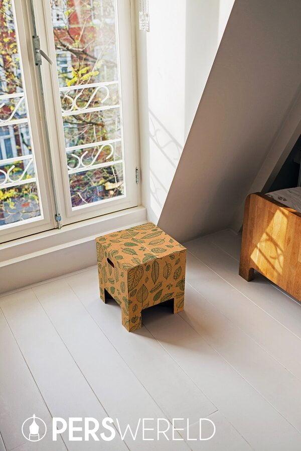 Dutch Design Chair Natural Leaves