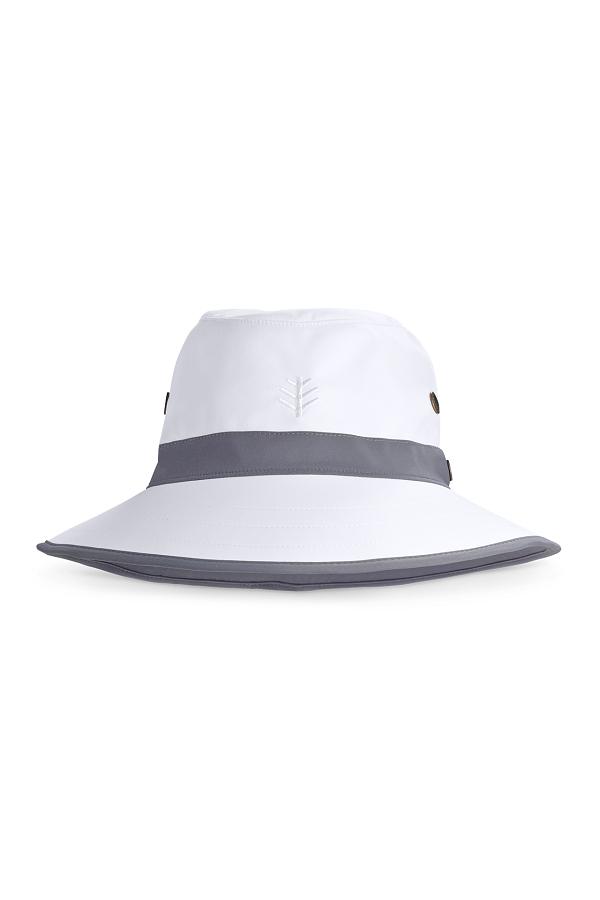 UV hoed voor heren wit
