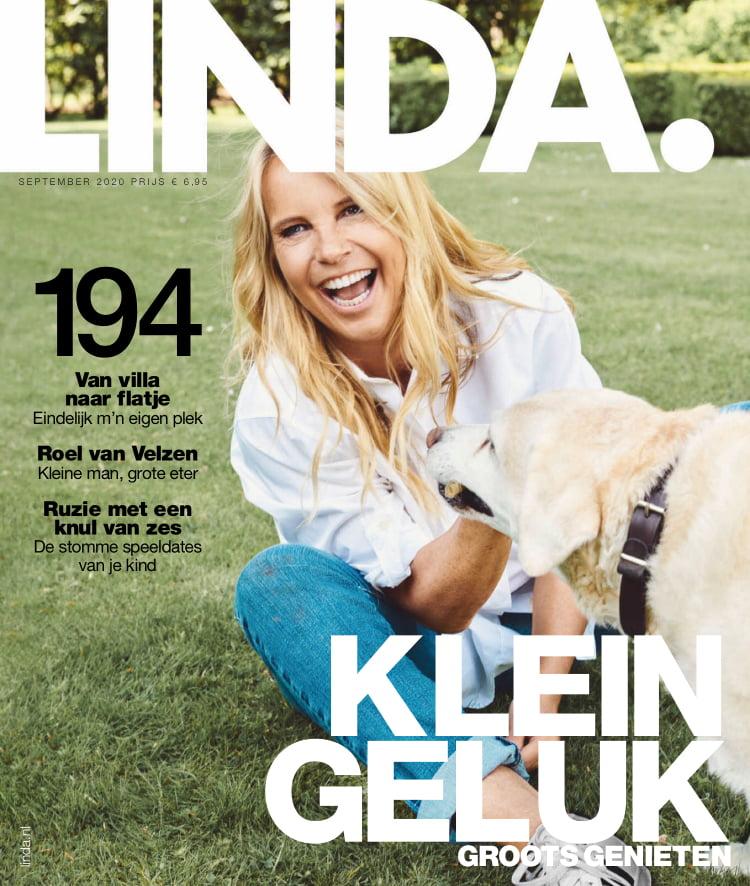 Tijdschrift LINDA magazine 194 cover - september 2020