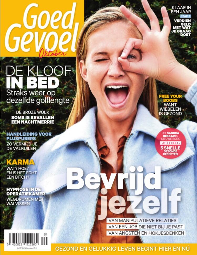 Tijdschrift Goed Gevoel cover - oktober 2020