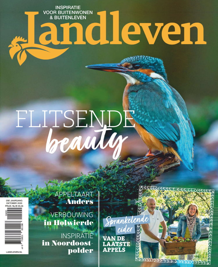 Tijdschrift Landleven cover - oktober 2020