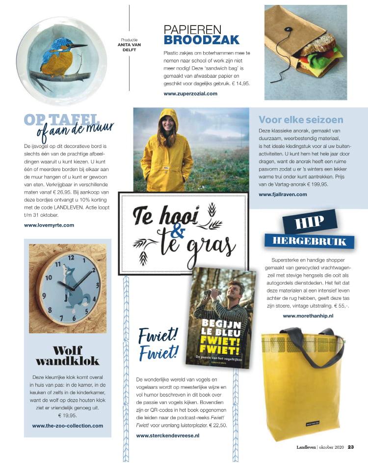 Tijdschrift Landleven - oktober 2020