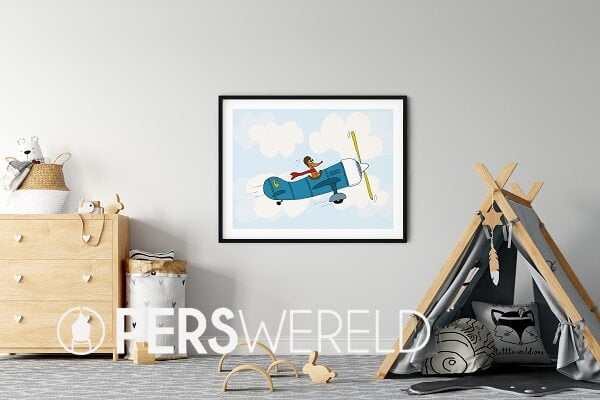 cecielmaakt-poster-vliegtuig