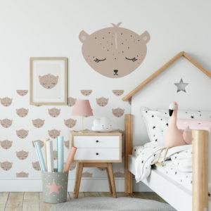Luipaard behang sfeer - hiphuisje.nl