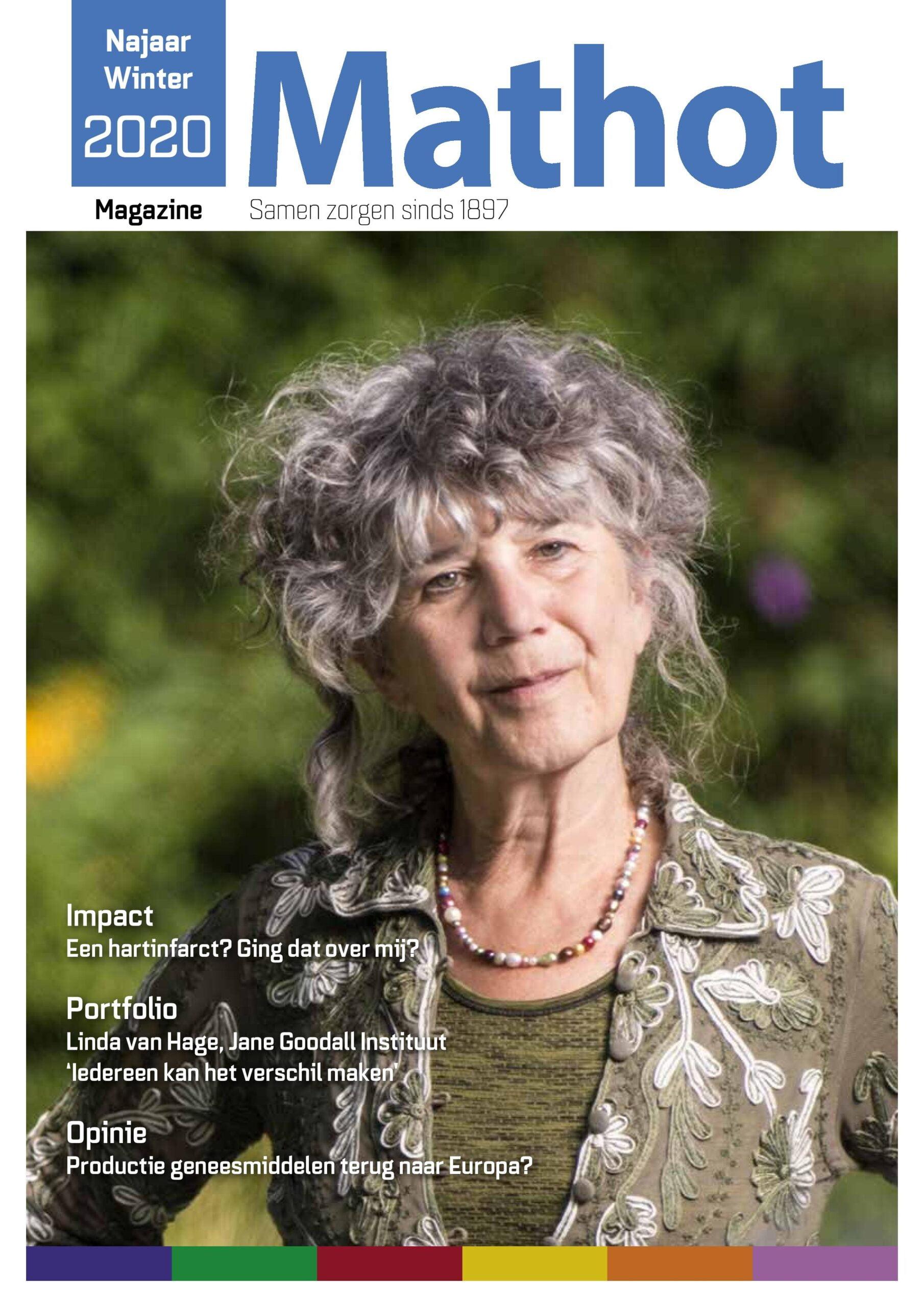 Tijdschrift Mathot Magazine cover - najaar-winter 2020