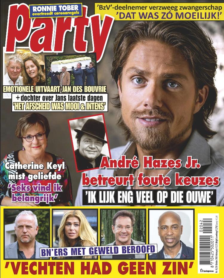 Tijdschrift Party 42 cover - oktober 2020