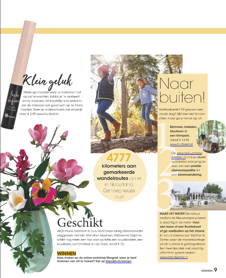 Tijdschrift Vriendin 42 - oktober 2020
