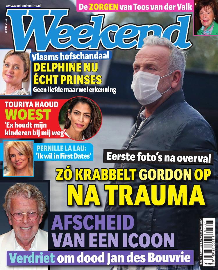 Tijdschrift Weekend 41 cover - oktober 2020