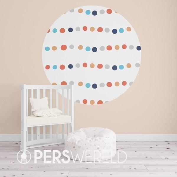 kidsware-behangcirkel-dots