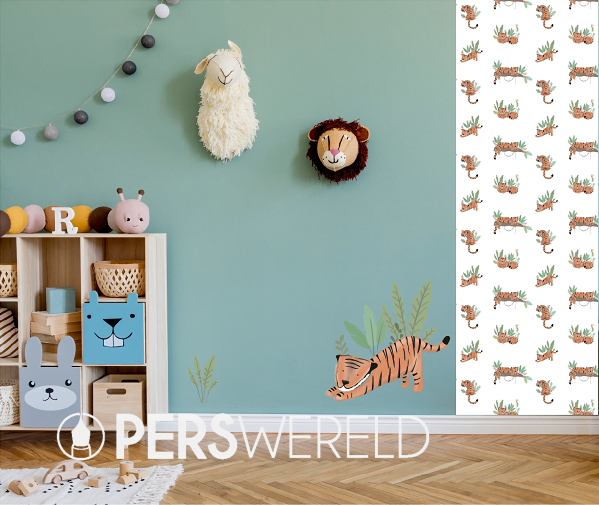 lmbabyart-tijger-tiggie-muursticker-behang