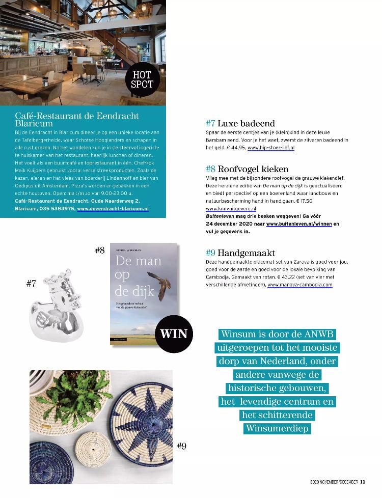 Tijdschrift Buitenleven - nov-dec 2020